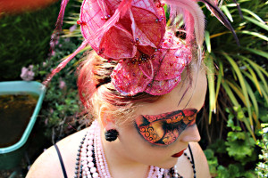 Masquerade - Fascinator Design