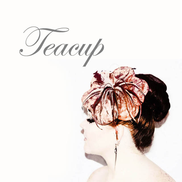 Teacup - Saraden Designs Millinery