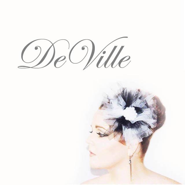 DeVille - Saraden Designs Millinery