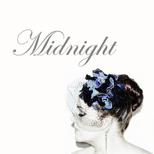 Midnight - Saraden Designs Millinery