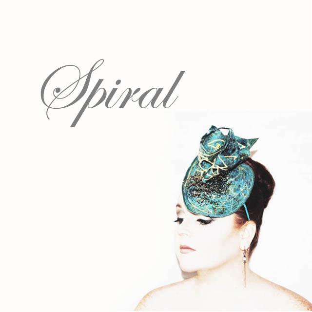 Spiral - Saraden Designs Millinery