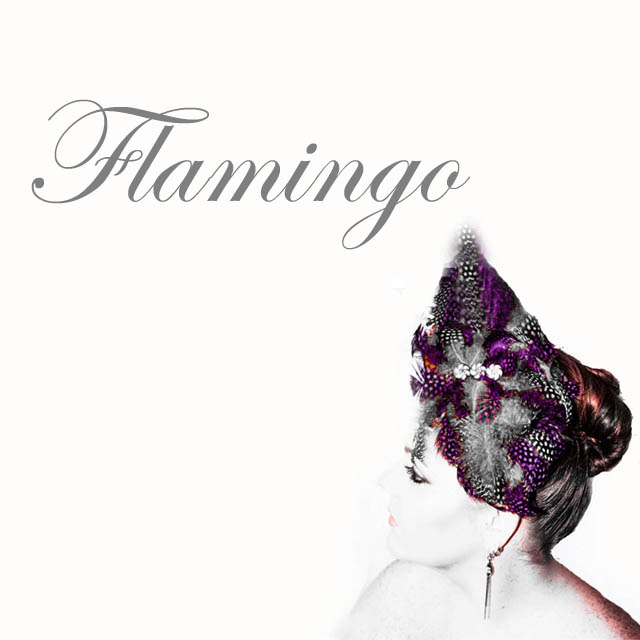 Flamingo - Saraden Designs Millinery