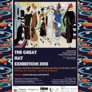London Hat Week 2018 - announcement