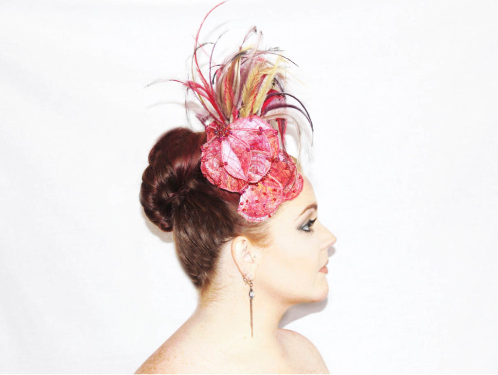 Saraden Designs Millinery - Pineapple