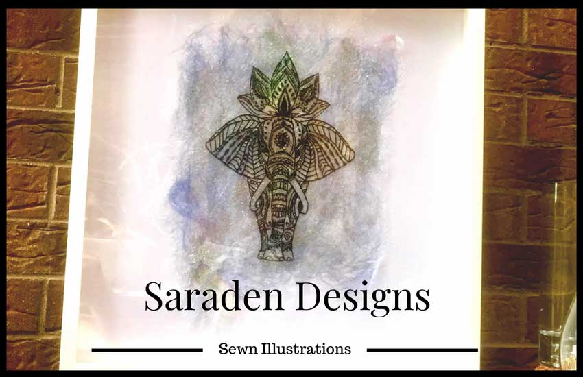 Saraden Designs - Sewn Illustrations