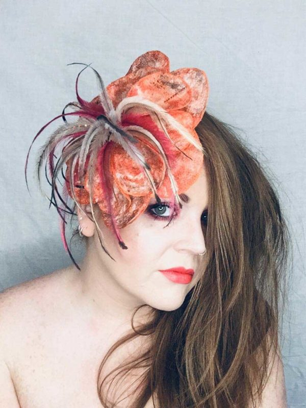 Teacup- Millinery - Saraden Designs - Occasion Wear