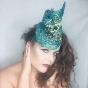 Spiral - Millinery - Saraden Designs - Occasion Wear
