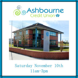 Saraden Designs working with Ashbourne Credit Union
