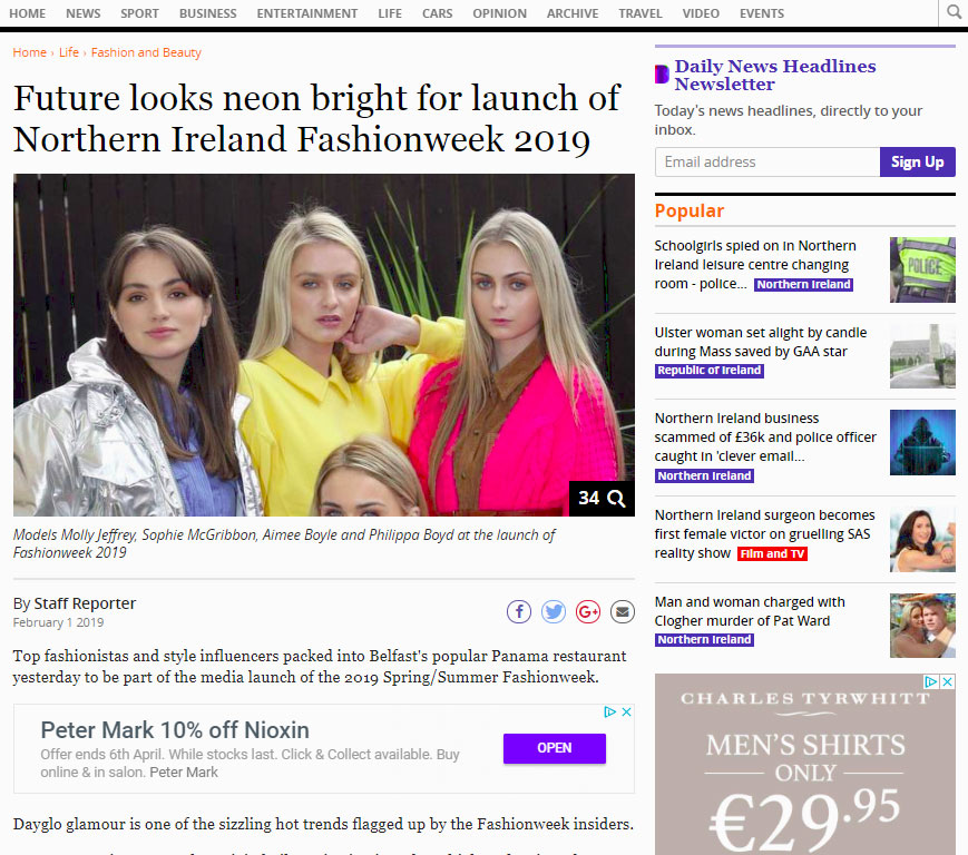 Belfast Fashion Week - Belfast Telegraph