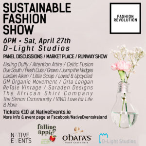 Revolution IReland - Sustainable Fashion Show