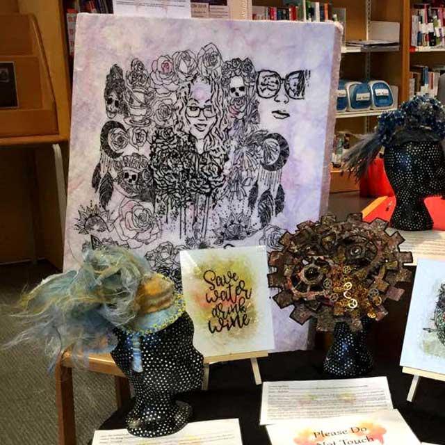 Saraden Designs -Culture Night 2018 Blanchardstown Library