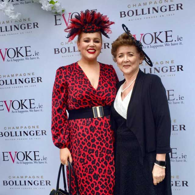 Saraden Designs Owner Sarah O' Rourke and mum Margaret O' Rourke