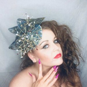 Snow White - Millinery - Saraden Designs - Occasion Wear