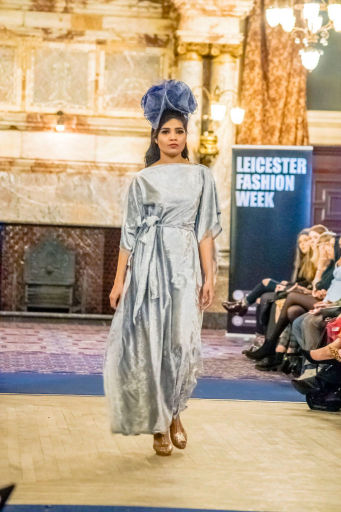 Leicester Fashion Week November 2020 | Designer Saraden Designs | Photographer PluggedDesigns