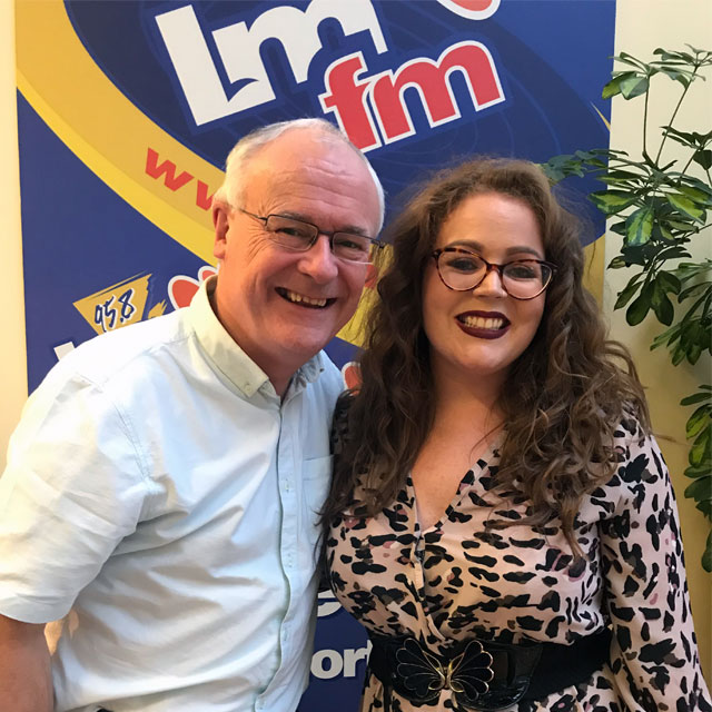 Sarah O' Rourke and Gerry Kelly LMFM Interview