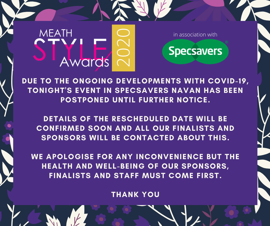 The Meath style Awards 2020 Notice - The Meath Style Awards 2020 - Finalist Best Accessories - Meath Style Awards Finalist Best Accessories