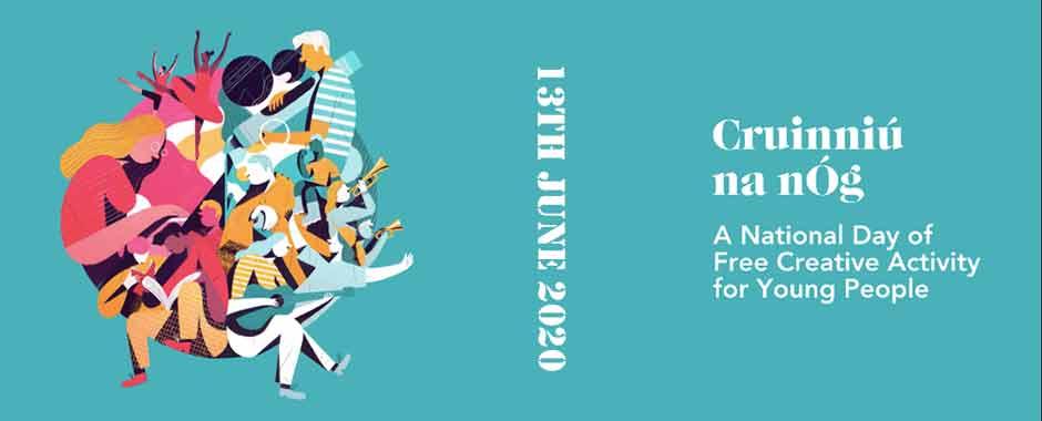 Cruinniú na nÓg 13th June 2020 - Saraden Designs Irish Awards Winning Milliner