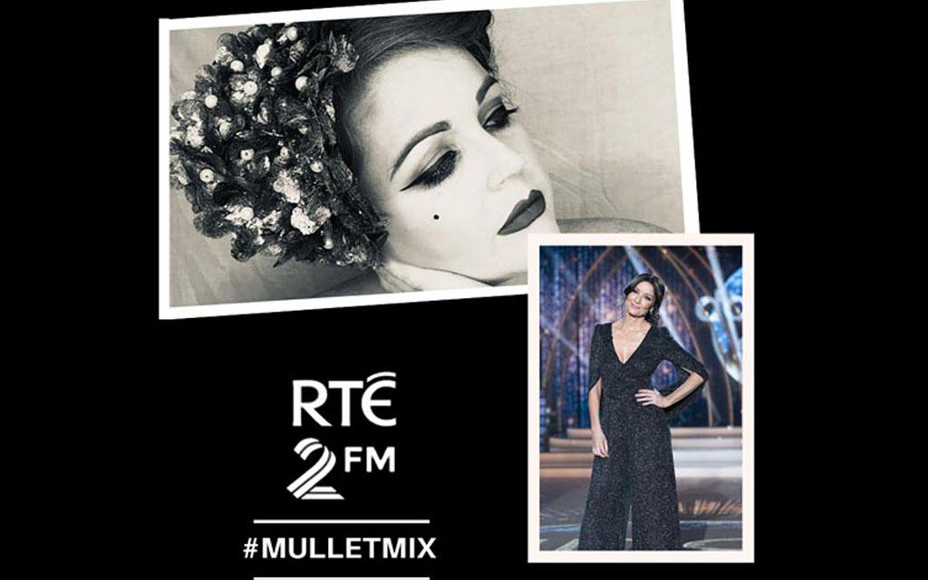 RTE 2FM, Jennifer Zamparelli, Mullet Mix, Radio, Interview Saraden Designs Millinery Atelier Supporting Irish Businesses