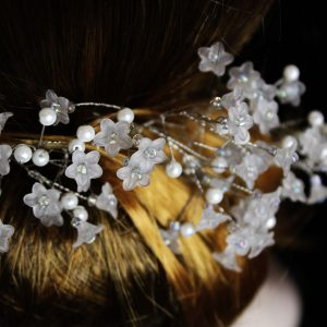 Hair vine, Ayana, wedding design, Saraden Designs Millinery, handmade Irish designer