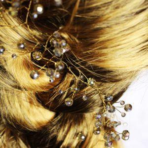 Arial Hair Vine, wedding design, Saraden Designs Millinery, handmade Irish designer