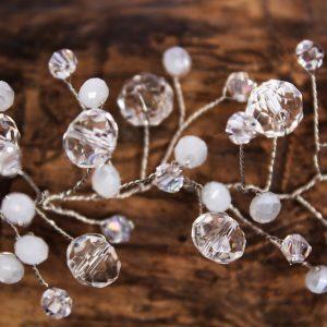 Grace Hair vine, wedding design, Saraden Designs Millinery, handmade Irish designer
