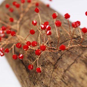 Sienna Hair Vine, wedding design, Saraden Designs Millinery, handmade Irish designer
