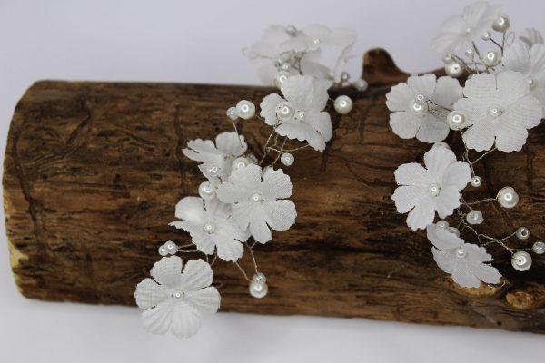 Fleur Hair Vine, wedding design, Saraden Designs Millinery, handmade Irish designer