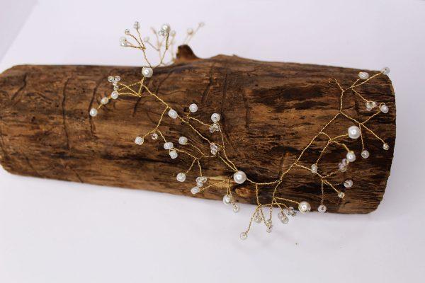 Angel Hair Vine, wedding design, Saraden Designs Millinery, handmade Irish designer