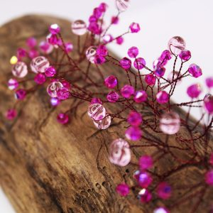 Daisy Hair Vine, wedding design, Saraden Designs Millinery, handmade Irish designer