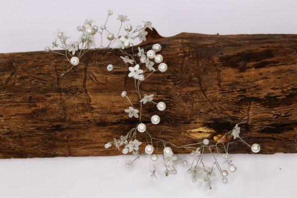 Hair vine, Molly, wedding design, Saraden Designs Millinery, handmade Irish designer