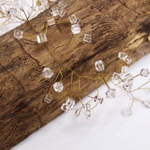 Hair vine, Lily, wedding design, Saraden Designs Millinery, handmade Irish designer