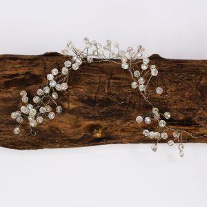 Valentina Hair Vine, wedding design, Saraden Designs Millinery, handmade Irish designer
