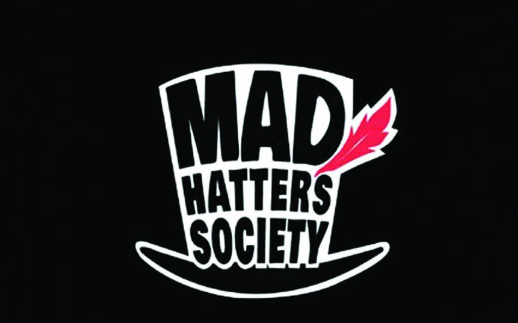 Mad Hatters Society, Irish Milliner, Winner, Saraden Designs, judge David Dunkley