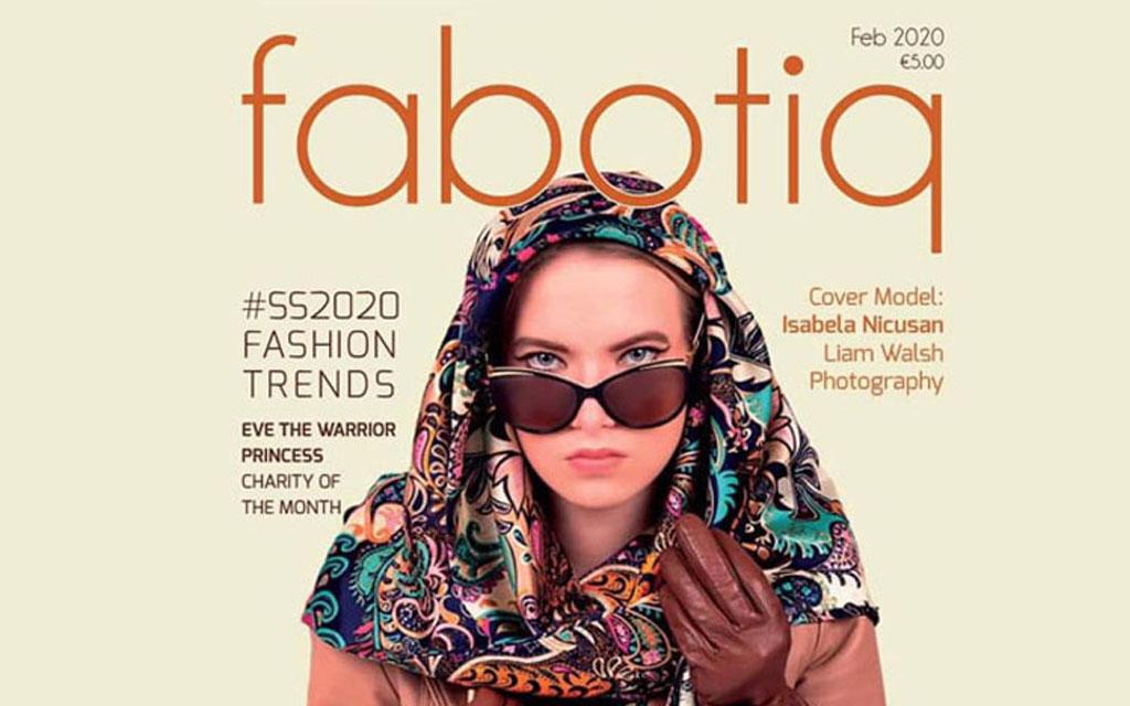 Press Publication, Fabotiq, Irish Fashion Magazine, Feature, Saraden Designs Irish Milliner, Irish Fashion