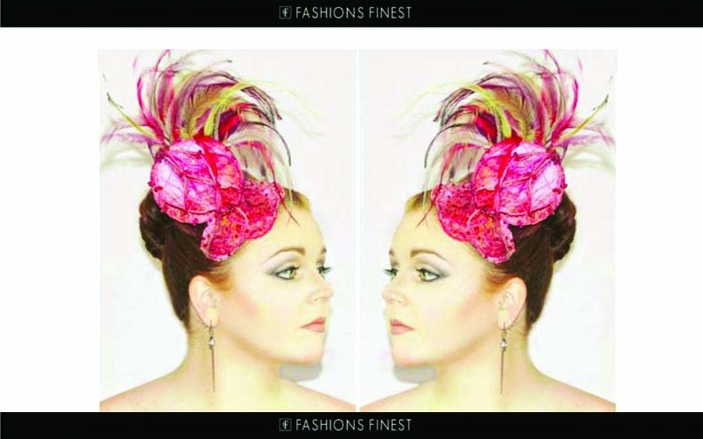 Press Publications, Fashions finest featuring Irish Milliner Saraden Designs