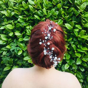 Belle Hair Vine, wedding design, Saraden Designs Millinery, handmade Irish designer
