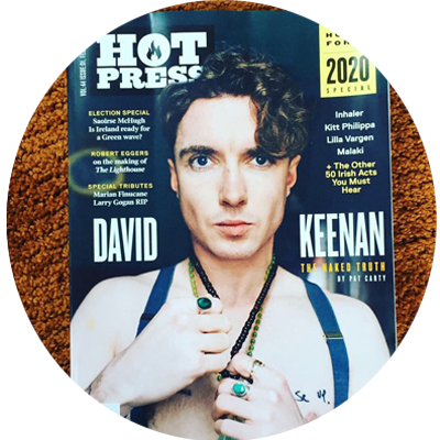 Hotpress Magazine, Saraden Designs Millinery, Pres, Feature, IRish Designer, Roe McDermott, Journalist