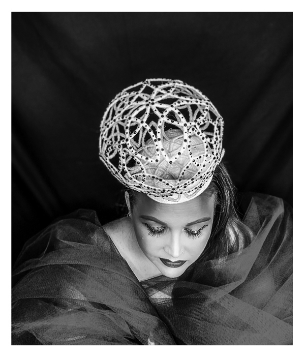 Sarah O' Rourke, Saraden Designs, Millinery, Wearable Art, Irish Designer, Photoshoot, Alternative Fashion, magazine shoot