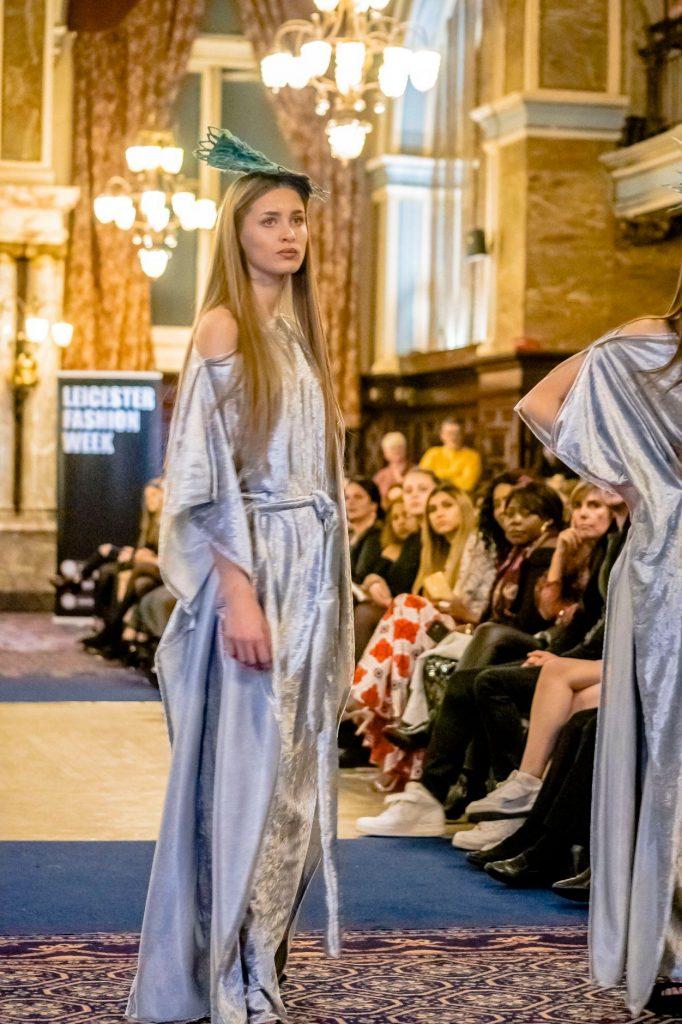 DCCI Member - Award winning Irish Designer Saraden Designs Millinery Atelier @ Leicester Fashion Week