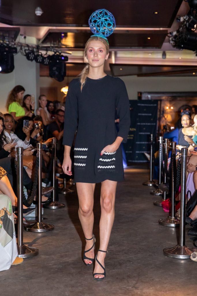 Award winning Irish Designer Saraden Designs Millinery Atelier @ London Fashion Week