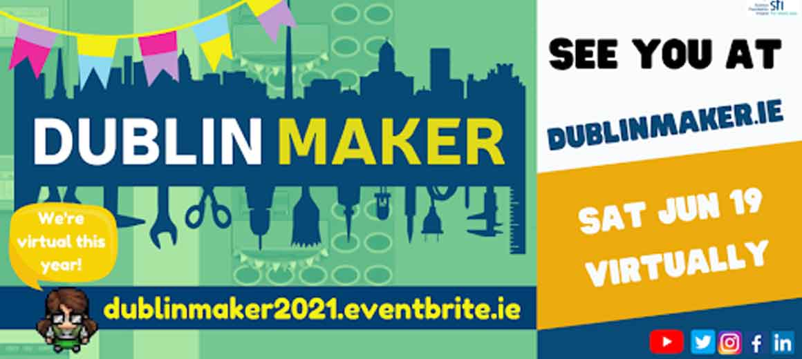 The Dublin Maker 2021 first virtual event in gather town featuring Saraden Designs Millinery Atelier