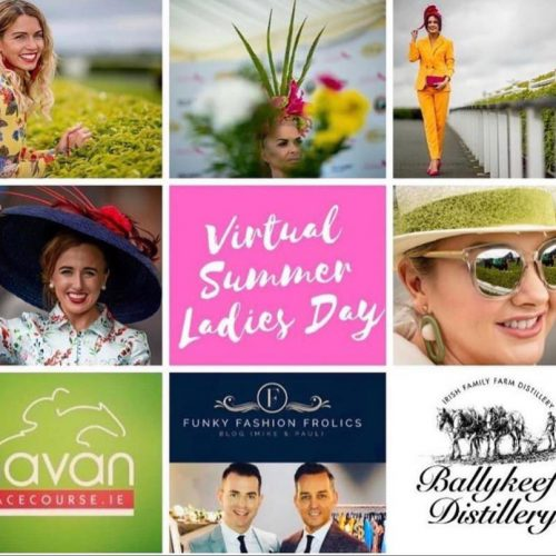 Navan Racecourse Virtual Summr Ladies Day - Saraden Designs Irish Milliner