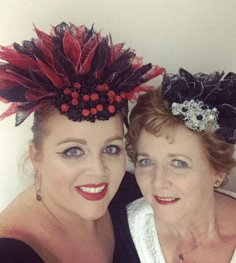 Sarah & Margaret O' Rourke - London Hat Week 2018