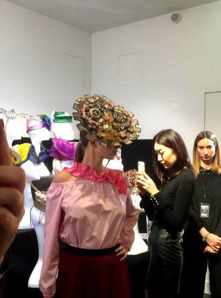 Saraden Designs - Evolution - London Hat Week - Press Preview