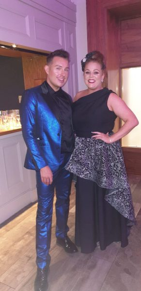 Milliner of the Year Sarah O' Rourke & Designer of the Year Eamonn McGill
