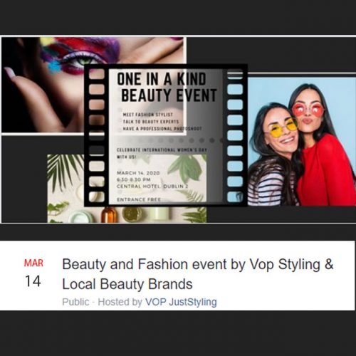 Beauty and Fashion event by Vop Styling & Local Beauty Brands - Saraden Designs