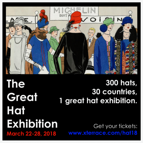 The Great Hat Exhibition - London Hat Week 2018 - Saraden Designs - Evolution