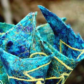 Events Gallery | Saraden Designs | Irish Milliner | Handmade Fabric | Spiral